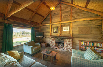 Grampians Pioneer Log Cottage Interior - Quirky Accommodation in Victoria