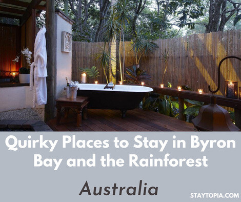 Quirky Places to Stay in Byron Bay