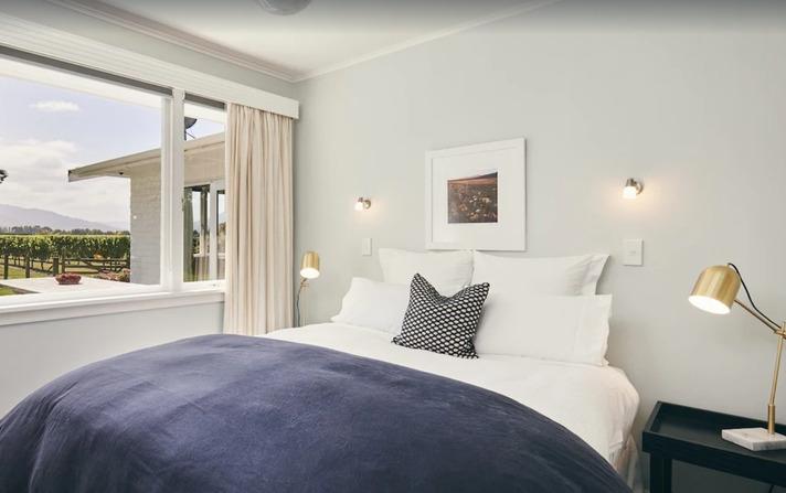 Vineyard Holiday Home Bedroom - Blenheim Vineyard Accommodation